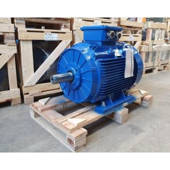 Elektrimootor 37,0kW/1000 p/min T3C 250M-6 B3; IE3; IP55; 400/690V; PTC termistorid 130℃